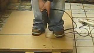 Folding Plant Stand Process Video..wmv