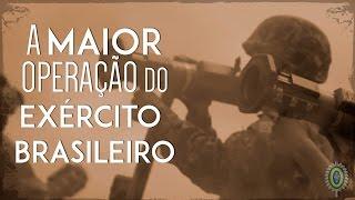 Baixar A Maior Operação Militar do Exército Brasileiro: Manobra Escolar 2016
