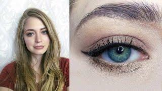 Макияж на выпускной / вечерний макияж / продукты из масс маркета: видео-урок