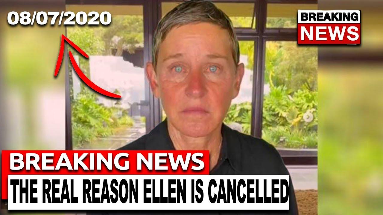 The REAL Reason Ellen Degeneres Is Cancelled...