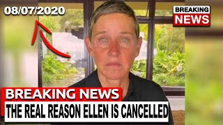 The Real Reason Ellen Degeneres Is Cancelled