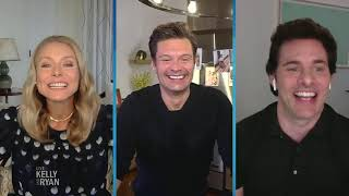 """James marsden talks about playing a twin in the second season of """"dead to me.""""subscribe: https://bit.ly/2hfueakwebsite: https://kellyandryan.com/facebook: ht..."""