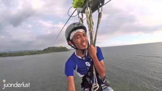 Juanderlust ~ The Longest Island to Island Zipline in the Philippines