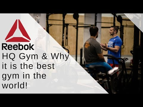 Reebok HQ Gym | The BEST In The World?!