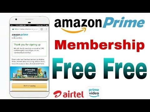 How To Get Free Amazon Prime Membership