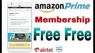 Get amazon prime membership free || amazon prime || prime video