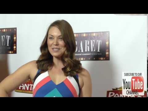 Kaitlyn Black at the Opening Of Cabaret At Hollywood Pantages Theatre