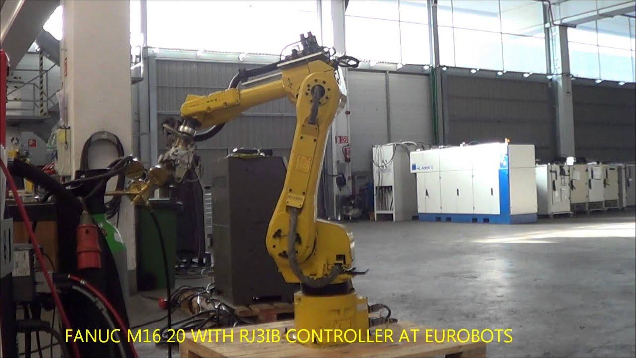Fanuc M16 20 Rj3ib At Eurobots