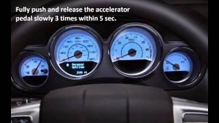 How to reset oil service light Pontiac Wave 2004 - 2014