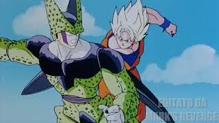 Goku SSJ vs Cell Perfetto Scontro Completo ITA