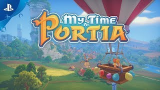 My Time at Portia - Announcement Trailer | PS4