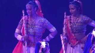 Christchurch Garba girls performance
