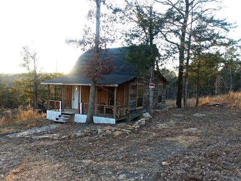 Touring 21 acres for sale in the Ozark Mountains!