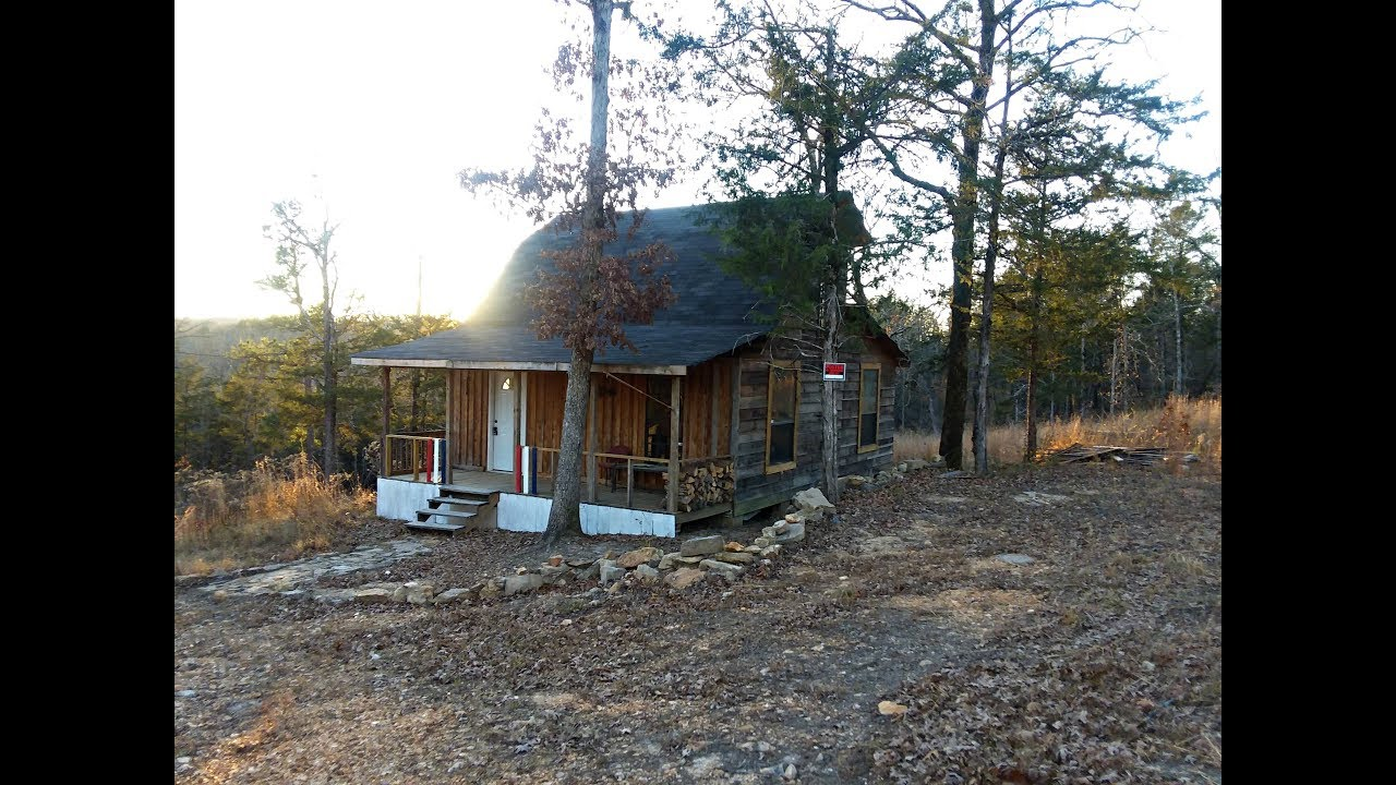 Touring 21 Acres For Sale In The Ozark Mountains