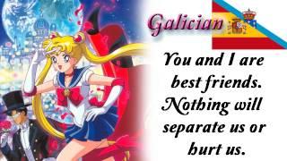 Sailor Moon - Heart Moving Comparison