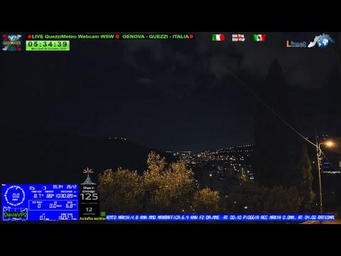 Live stream GENOVA QUEZZI ITALIA -  Quezzimeteo  Webcam