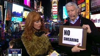 The best of Anderson Cooper and Kathy Griffin on New Years Eve