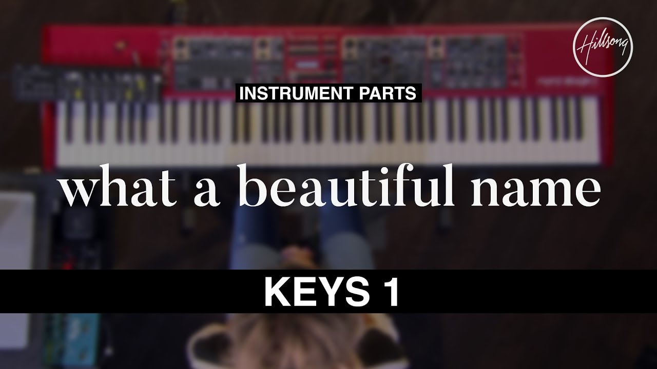 Keys 1 Instrumental - What A Beautiful Name