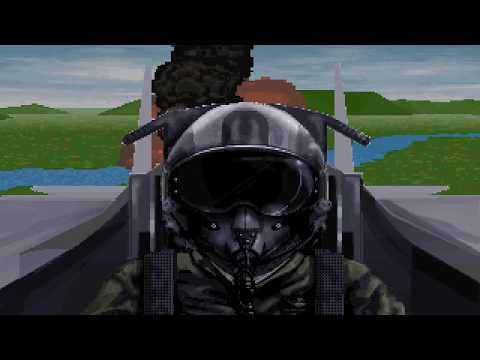 """F-15 Strike Eagle 3 """"Major Promotion & Medal of Honor"""" (PC/DOS) 1992, MicroProse, MPS Labs"""