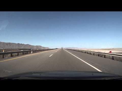 Salt Lake City (Midvale) Utah to Wendover Nevada in under 4 minutes.