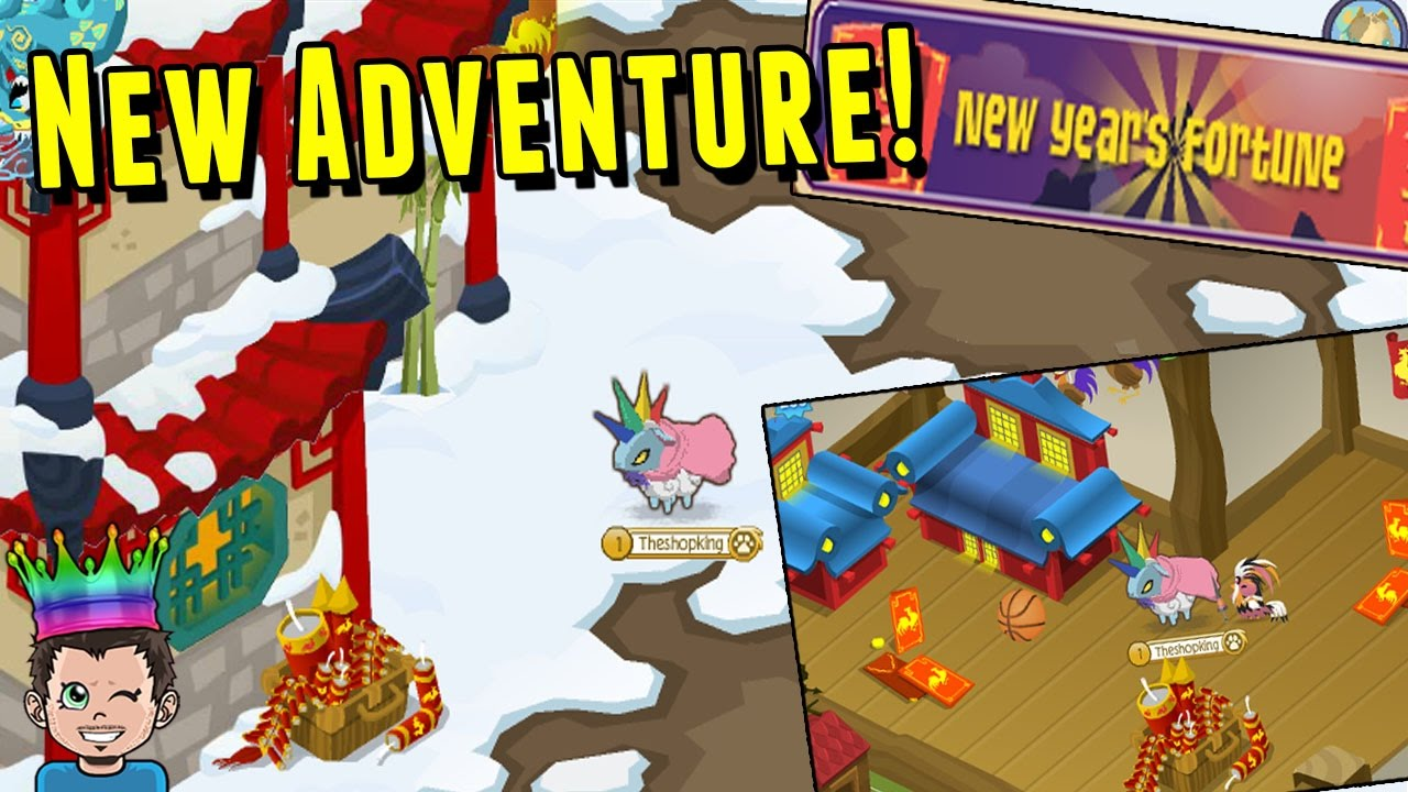 Animal Jam New Years Fortune Adventure + New Den Items ...