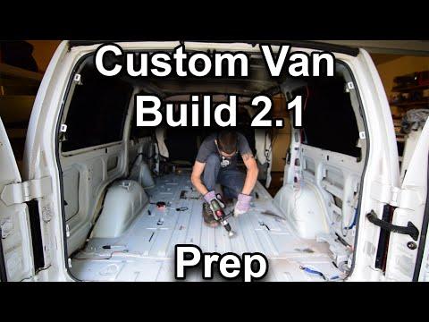 Custom Stealth Astro Van Build 2.1 Preparation