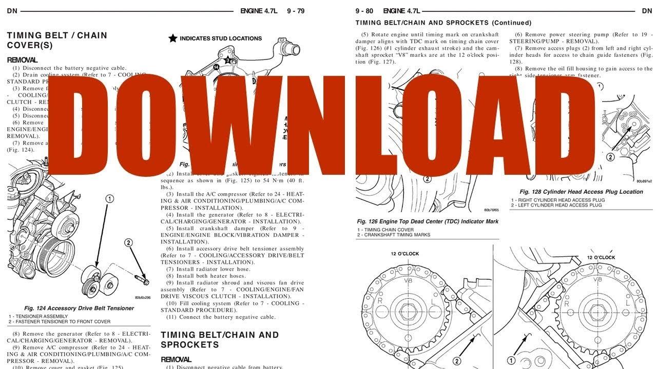 [ZHKZ_3066]  DOWNLOADD Dodge Durango Repair Manual 1999-2005 (Instant eBook) - YouTube   Dodge Durango Wiring Diagram Pdf      YouTube