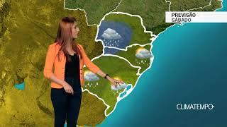 Previsão Sul - Risco de temporal nos 3 estados
