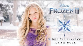 "Gambar cover Idina Menzel, AURORA - Into the Unknown (From ""Frozen 2"") Panic! At The Disco - Cover by Lyza Bull"