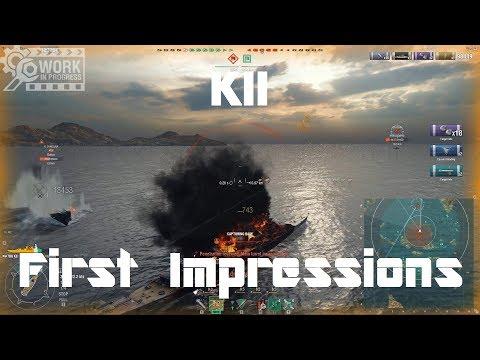 T8 IJN Premium BB Kii [WiP] - First Impressions