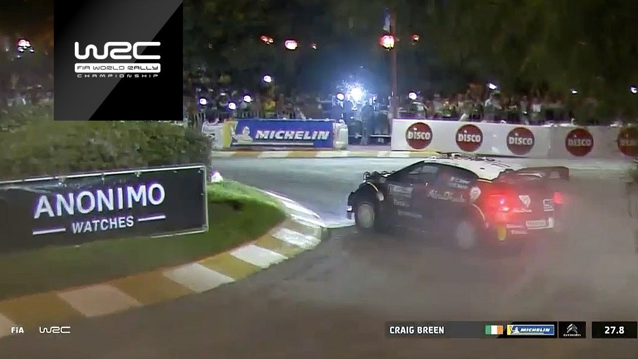 WRC - YPF Rally Argentina 2018: Craig Breen in SS1