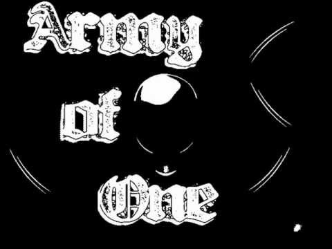 Army of One - Nobody (Lyrics)