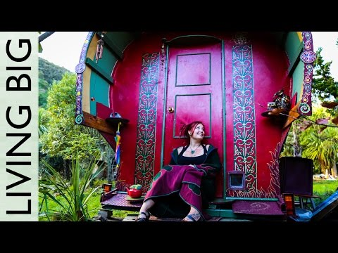 Life in a Magical Gypsy Vardo Style Caravan