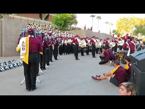 ASU Sun Devil Marching Band - Pregame Music 9/23/2017