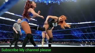 Charlotte Flair vs. Becky Lynch vs. Carmella Winner faces Asuka at Royal Rumble SMACKDOWN LIVE