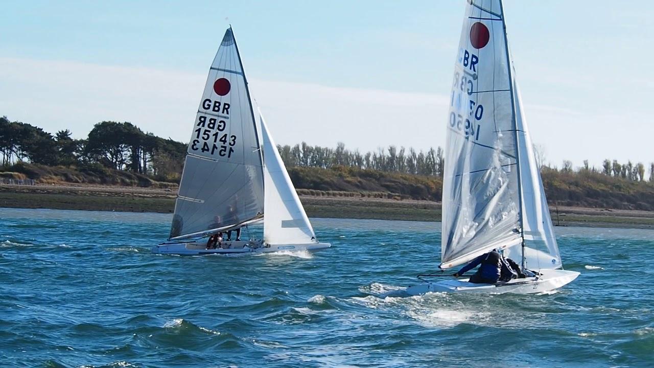 Fireball Upwind 2 boat tuning HISC