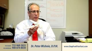 Piscataway Podiatrist Painlessly Treats Heel Pain & Pump Bump