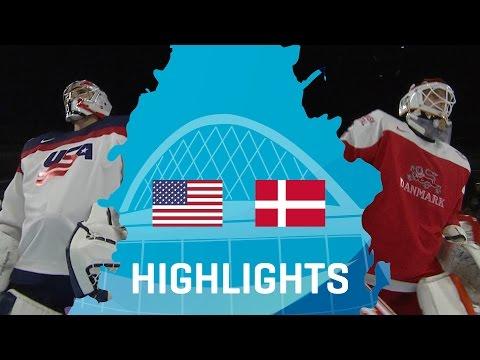 Usa - Denmark   Highlights   #IIHFWorlds2017