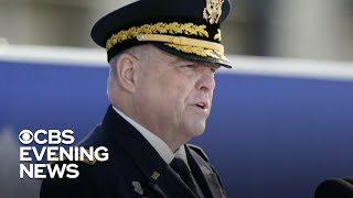 General Mark Milley faces calls to resign over reported talks with China