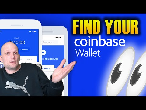 HOW TO FIND COINBASE WALLET ADDRESS