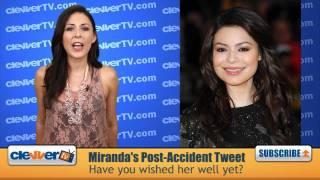 Miranda Cosgrove's Reaction To Tour Bus Accident