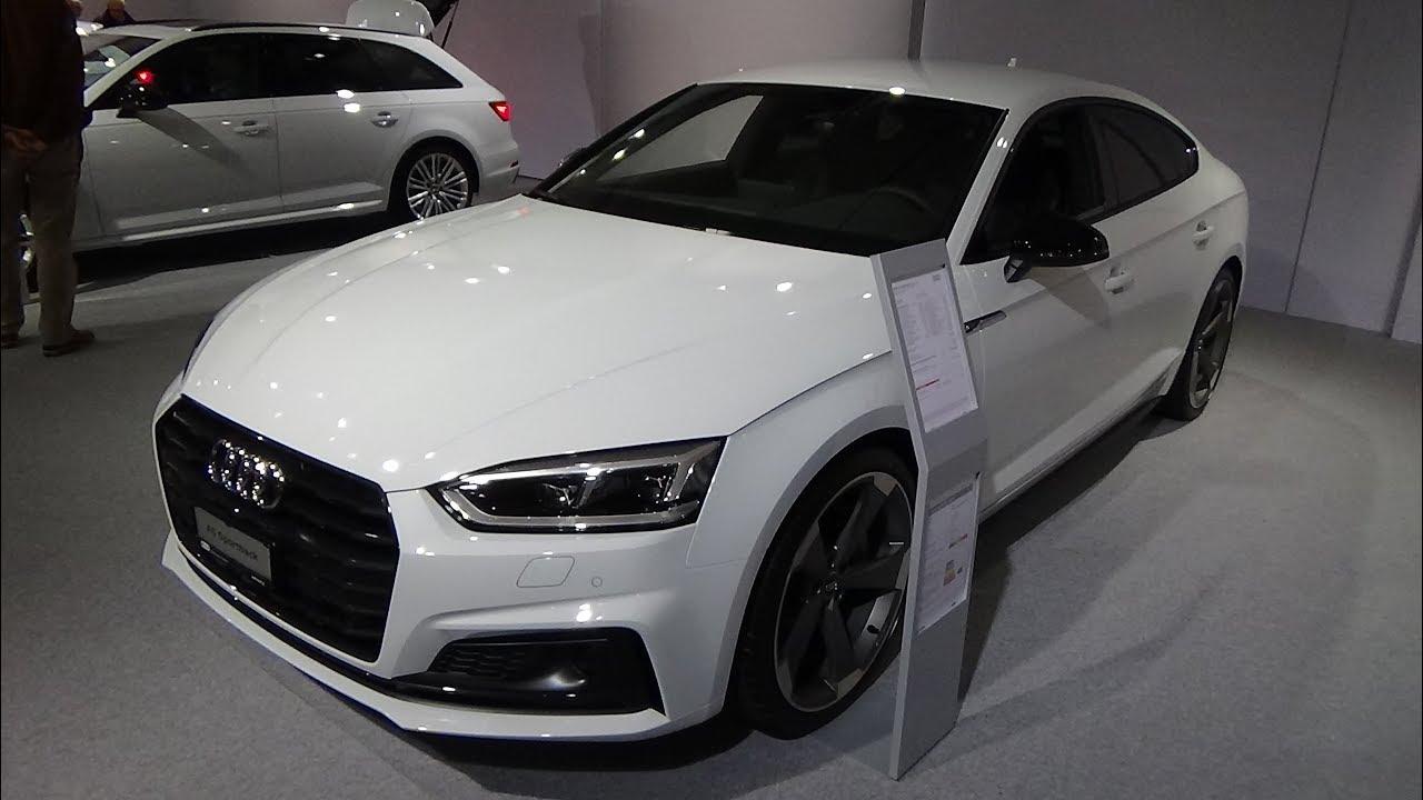 2019 Audi A5 Sportback Quattro 2 0 Tfsi Exterior And Interior