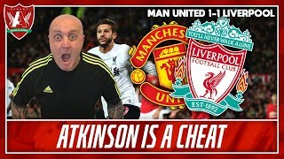 Absolutely Robbed At Old Trafford  Man United 1-1 Liverpool Match Reaction