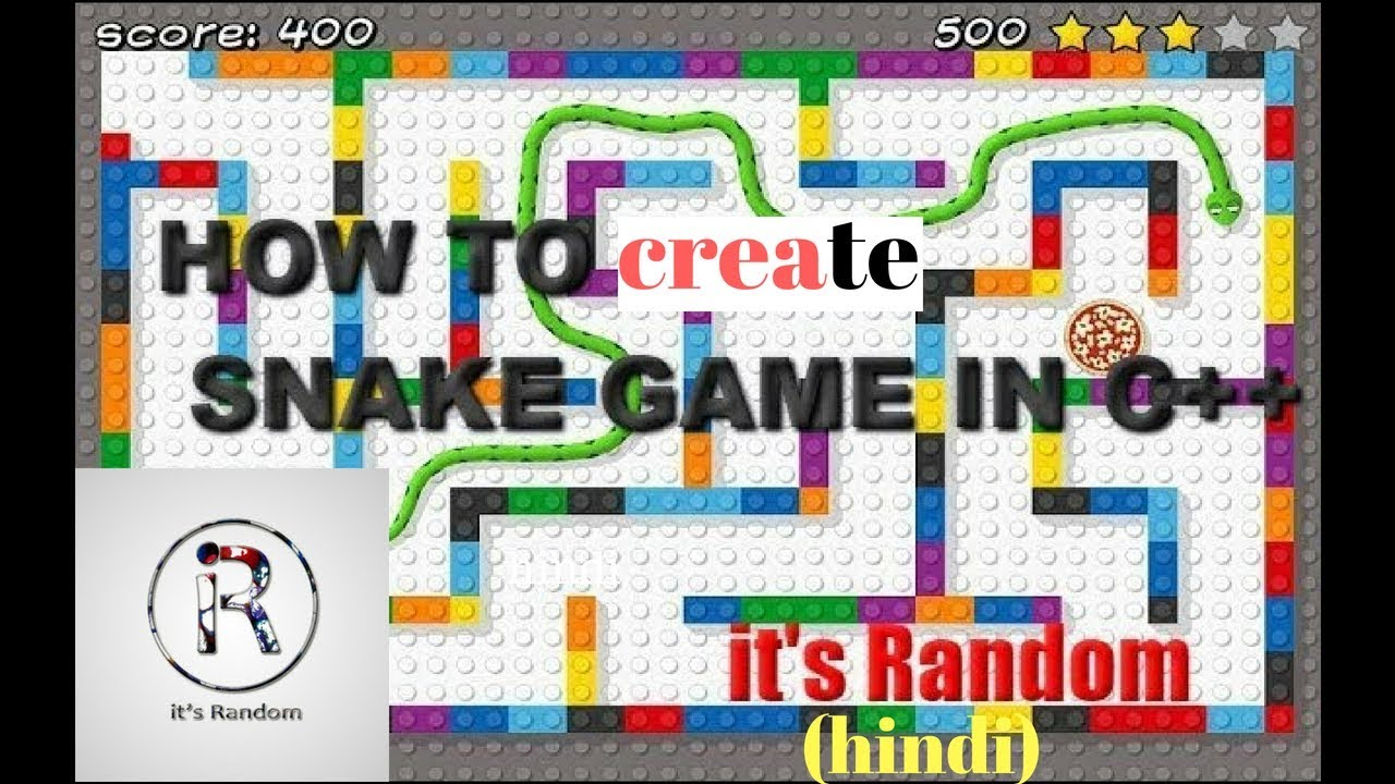 HOW TO CREATE A SNAKE GAME IN C++ (HINDI) Download video