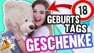 WAS ICH ZU MEINEM 18. GEBURTSTAG BEKOMMEN HABE! 🔞💖 | Julia Beautx