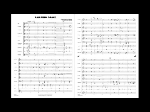 Amazing Grace arranged by Paul Lavender