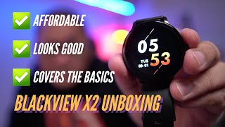 Blackview X2 Unboxing and First Impressions