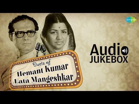 Best Of Lata Mangeshkar & Hemant Kumar Duets | Classic Romantic Songs | Audio Jukebox