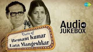 Best Of Lata Mangeshkar & Hemant Kumar Duets | Classic Romantic Songs | Audio Jukebox