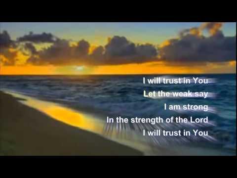 You Are My Hiding Place - Maranatha Karaoke with lyrics
